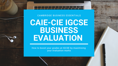 How to Evaluate in IGCSE Business