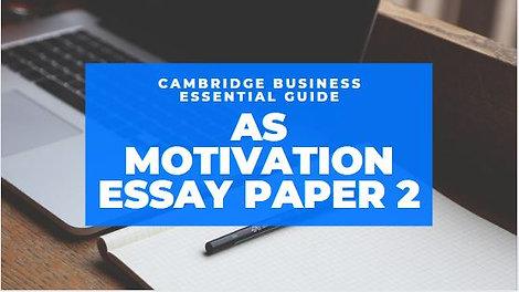 Motivation A level Essential Guide