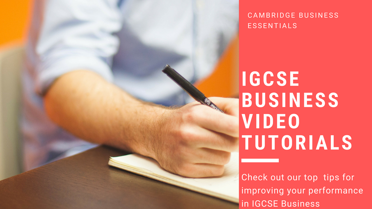 IGCSE Business Cambridge International