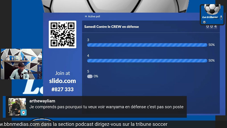 Podcast La tribune soccer BBN Médias