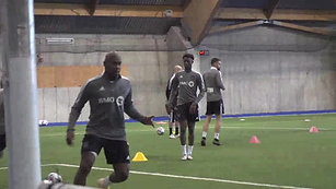 Clip from Training session - March 2 2021 - Complexe sportif Marie-Victorin - VIDEO