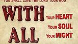 Mine!   Deuteronomy 6:5  week 5