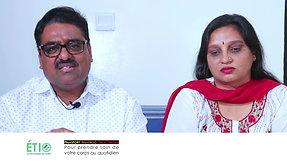 Témoignage Sushna et Praveen