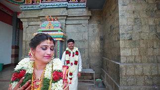 Vigneshwaran + Sreelekha lovely Wedding