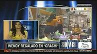Wendy Regalado en Showbiz.