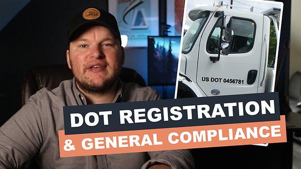 DOT Registration & General Compliance