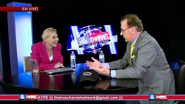 JJ Flash discusses the Trump Train on The True Channel