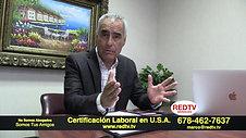 Certificación Laboral en U.S.A. Sponsor Trabaja y Vive en U.S.A.