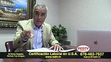 CERTIFICACIÓN LABORAL EN USA  TRABAJE Y VIVA EN USA