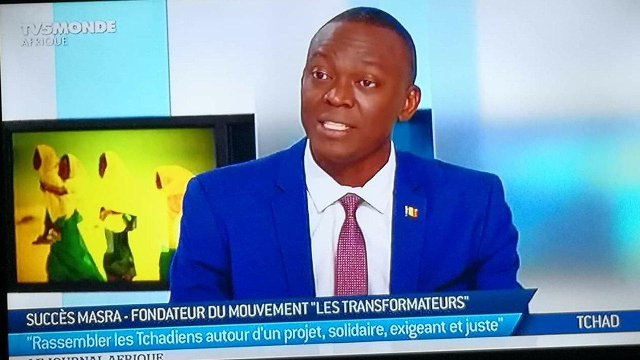 Tchad : Succès Masra  est l'invité du journal Afrique