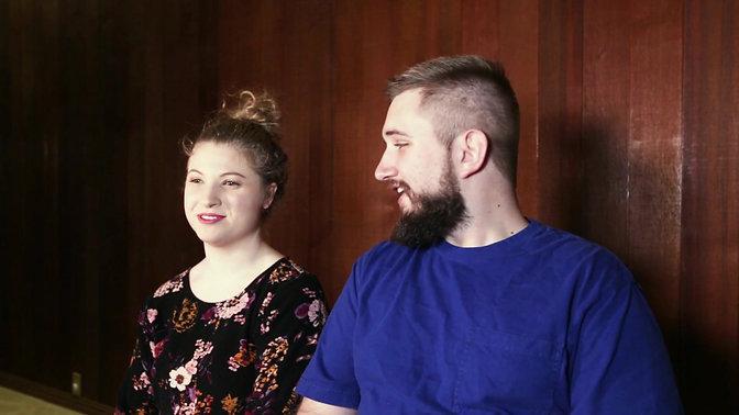 Jamie and Logan testimonial