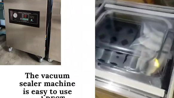Deep Single chamber vacuum machine