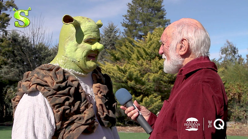 Shrek The Musical - INTERVIEW 1 HD - Max Gambale