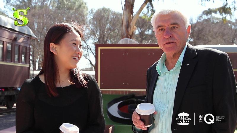 Shrek The Musical - INTERVIEW 2 HD - Kat Tang and Ian Maclean