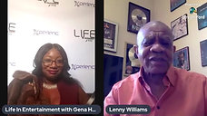 R & B Legend Lenny Williams sits down with Gena Heelz of Life In Entertainment