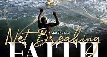 """Net Breaking Faith"" Luke 5:1-11 www.agccindy.org/give  Preston T Adams III Dishawn Adams #agccind #agcc #v2v #sunday #repost #indianapolis #naptown #share #praisebreak #indianapolis"