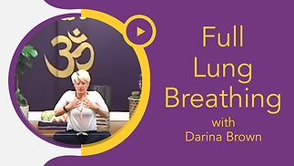 Full Lung Breathing with Darina