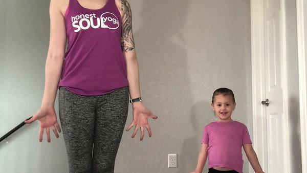 Kids Yoga with Lisa & Violet