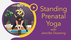 Standing & Wall Prenatal Flow with Jennifer