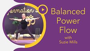 Balanced Power Flow with Suzie