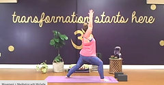 Movement + Meditation with Michelle