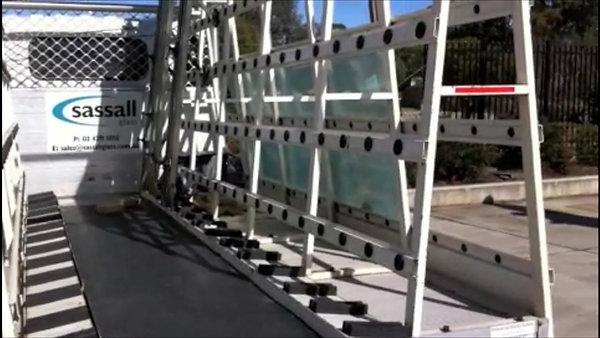 Glass Truck Body
