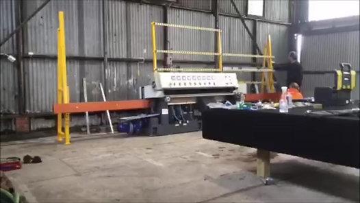 Glass Polishing Edging Machine Installation