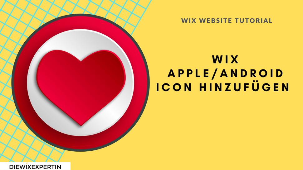 Wix Apple Icon Tutorial