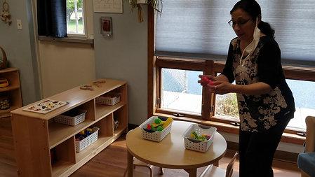 Virtual Tour of Toddler Room