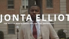 Mr. NCCU Campaign | Jonta Elliott