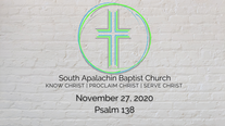 11.29.2020 - Morning Message