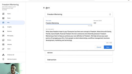 How to setup a Google My Business Account