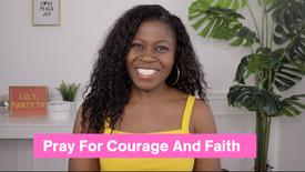 Prayer for Courage and Faith