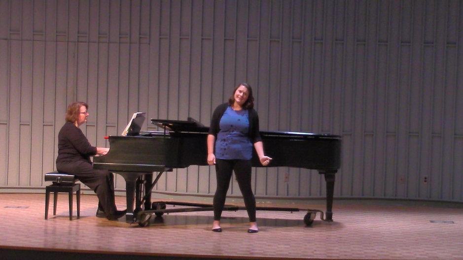 Vanessa Schroeder-Weber, Mezzo-Soprano