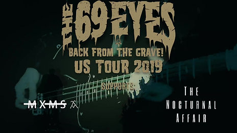 The 69 Eyes 2019 US Tour Announcement