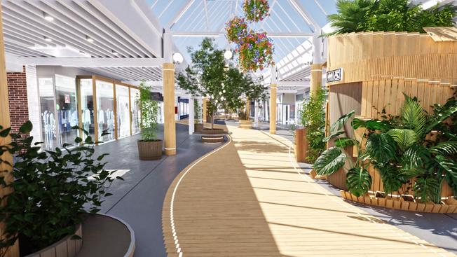 Ikast Strøgcenter - Design og visualisering