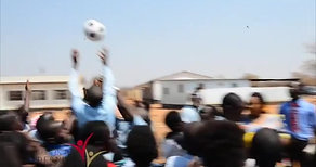 Twabuka School, Zambia, Soccer Ball Delivery