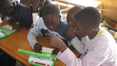 Rural Schools Solar Powered Laptop Delivery