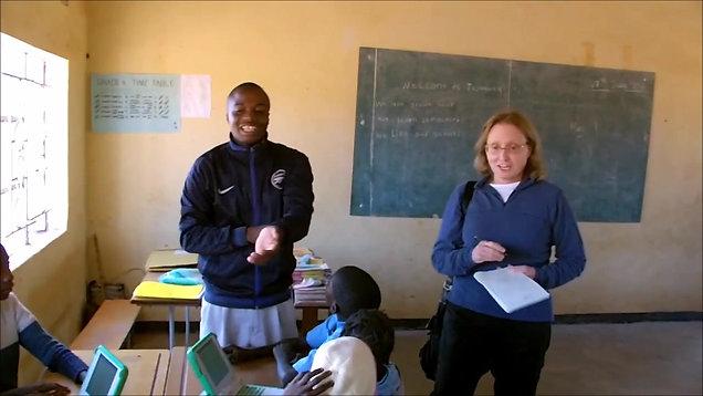 Twabuka School Computer Delivery