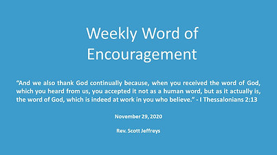 """""""The Word of God"""""""
