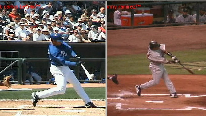Do the Pros have Similar Swings?