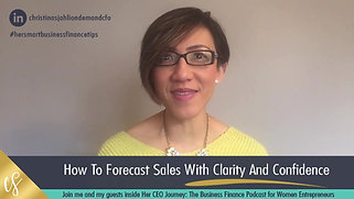 How to forecast sales with confidence and clarity