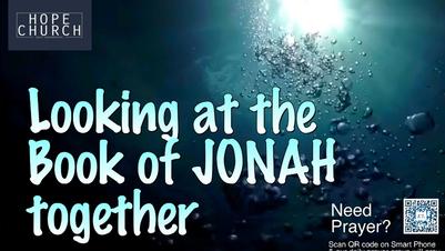 Bible Study - 16 June 2021 - Jonah