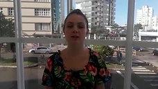 Aluna Maria Eduarda Un Erechim RS