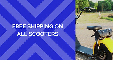 DISCOUNT ON ALL SCOOTERS