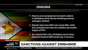 State of Zimbabwe economy under sanctions- Rutendo Matinyarare[via torchbrowser.com]