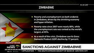 State of Zimbabwe economy under sanctions- Rutendo Matinyarare[via torchbrowser.com]