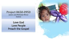 1 Samoa Missions 2020
