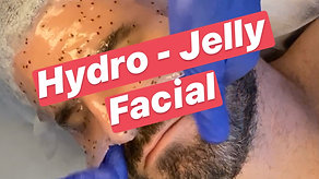 Hot Guys Do Facials too: Hydro-Jelly Mask Video by AlexSpot24 Private Men Spa NYC