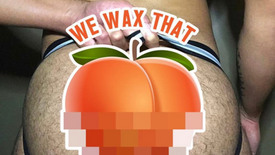 Male butt brazilian waxing & anal waxing for men NYC